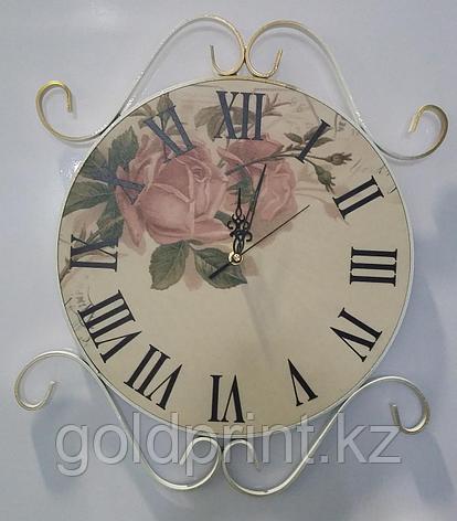 Кованые круглые Часы , фото 2
