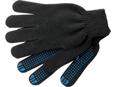 """Перчатки утепленные зимние, ПВХ """"точка"""""""