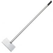 Ледоруб-скребок 200 мм, 1,5 кг с металлическим черенком 1200 мм