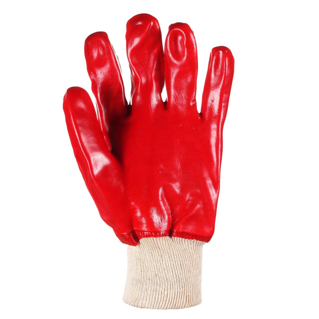 Перчатки рабочие из трикотажа с нитриловым обливом