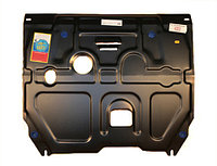 Защита картера двигателя и кпп на Volkswagen Golf 2/Фольксваген Гольф 2 1986-1992