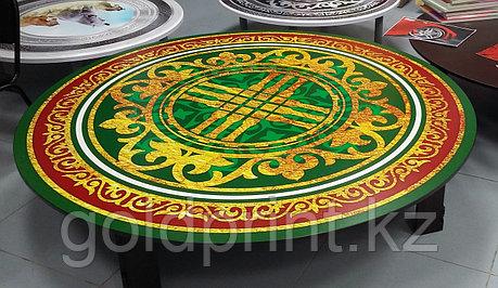 """Круглый стол """"Дастархан"""" с УФ(UV) фотопечатью Ø 180см, фото 2"""