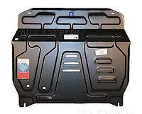Защита картера двигателя и кпп на Volkswagen Polo/Фольксваген Поло 1994-2001