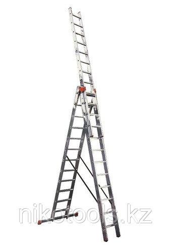 Ал. лестница 3х6, Н=3,4/4,4м (5306)