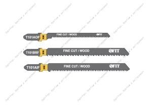 (41012) Набор полотен д/электролобзика, 6 шт (T101BRFx2; T101AOF x2; T101AIF x2)