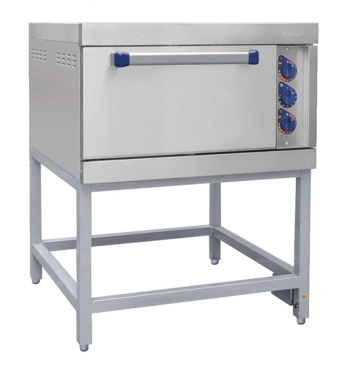 Шкаф жарочный 1-секционный, с конвекцией, с подставкой, электр.