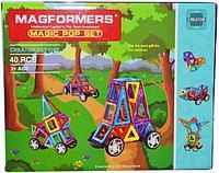 004A Magformers Машина магнитный конструктор 40 дет 25*30см