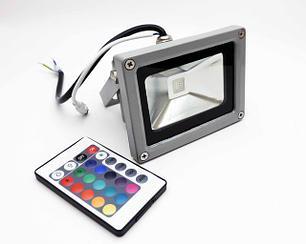 Светодиодный RGB Прожектор