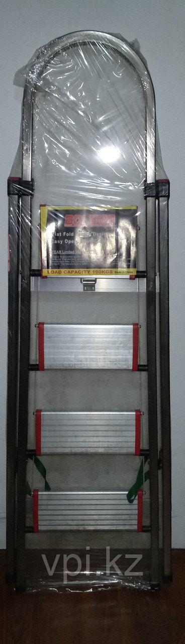 Лестница стремянка, алюминиевая, 4 ступени  BOLEMA
