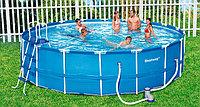 Круглый каркасный бассейн Bestway 56438(56100) Steel Pro Max 457*122