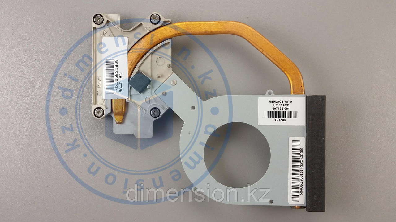 Радиатор, термотрубка для HP Probook 4520s