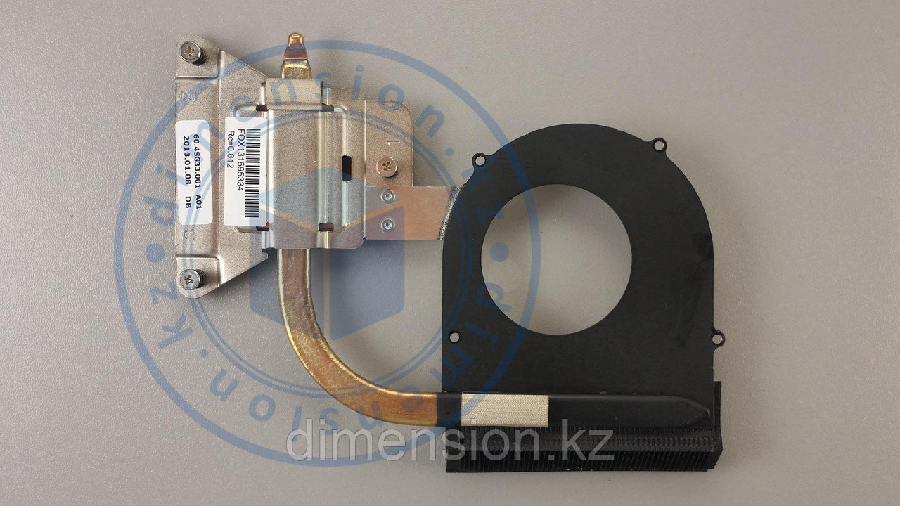 Радиатор, термотрубка для LENOVO G580 20157 (для глянцевых корпусов)