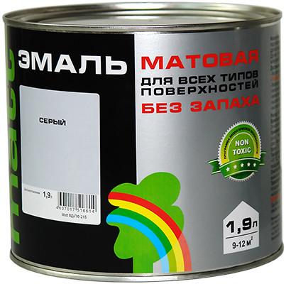 МАТТ РАДУГА 215 Эмаль цветная матовая 0.9 кг