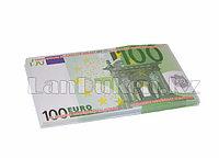 """Шуточные фальшивые деньги """"100 EURO"""" 100 штук"""