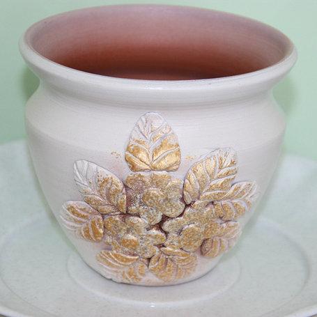 Керамический горшок для цветов.3л, фото 2
