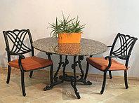 Мебель для сада из литого алюминия
