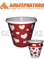 Цветочный горшок Валентинка М4633 2л