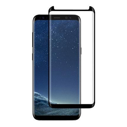 Защитное стекло Rinco 3D, Samsung A8 2018, Samsung A530 2018 Black, фото 2