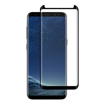 Защитное стекло Rinco 3D, Samsung S8 Plus Black, фото 2
