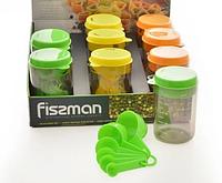 7526 FISSMAN Набор мерных емкостей 8 пр. (пластик)