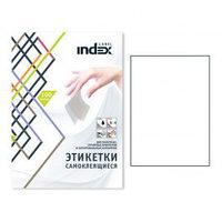 Этикетки самоклеящиеся INDEX Label, А4, 105 х 70 мм., 8 шт/лист, 100 л.