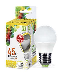 Лампа светодиодная LED-A60-standard 11Вт грушевидная 4000К белый E27 990лм 160-260В ASD
