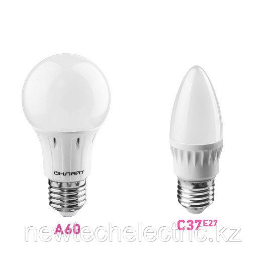 Лампа светодиодная 71 650 OLL-A60-10-230-4K-E27 10Вт грушевидная 4000К белый E27 820лм 176-264В ОНЛАЙТ