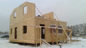 Строительство панельного дома