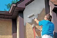 Оштукатуривание и покраска фасада