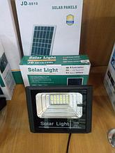 Прожектор на солнечной батарее 10 ватт LED для наружного и внутреннего освещения