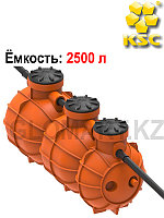Резервуар для удержание жира Биосток 5, объем 2500 л