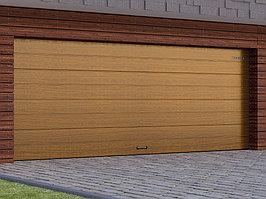 Автоматические гаражные секционные ворота с торсионным механизмом RSD02