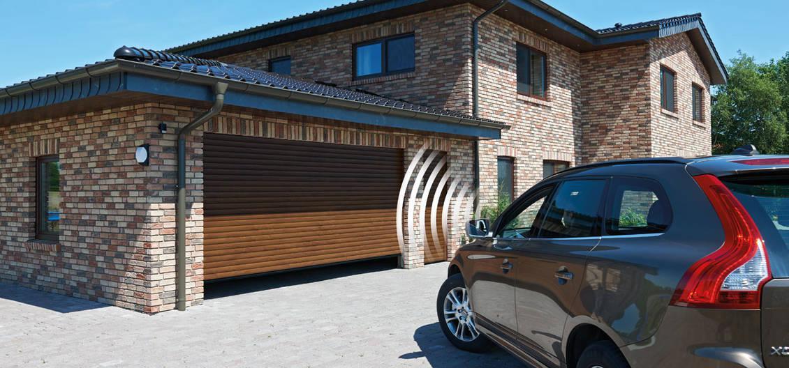 Автоматические гаражные рулонные ворота RollMatic