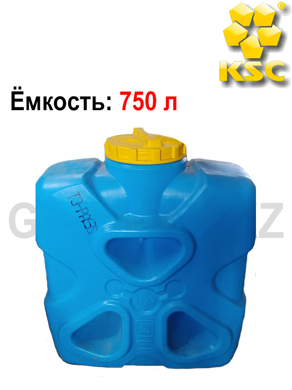 Квадратный резервуар молекула, 750 л