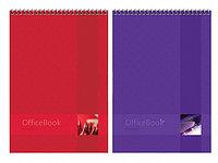 """Блокнот ArtSpace """"Моноколор. Office book"""" на спирали, А4, 80 листов в клетку, твердая подложка"""
