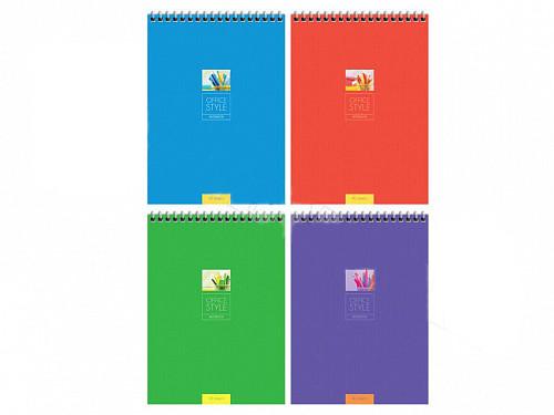 "Блокнот ArtSpace ""Моноколор. Office style"" на спирали, А5, 40 листов в клетку"
