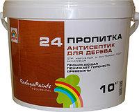 РАДУГА 24 Пропитка-антисептик для дерева 1кг