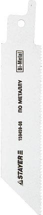 """Полотно STAYER """"PROFI"""" S522EF для сабельной эл. ножовки Bi-Met,тонколистовой, профильный металл, нерж сталь, фото 2"""