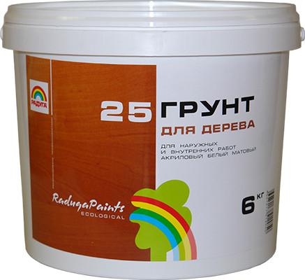 РАДУГА 25 Грунт для дерева 1.3 кг