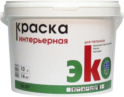 ЭКО ВД 221 Краска интерьерная 14 кг