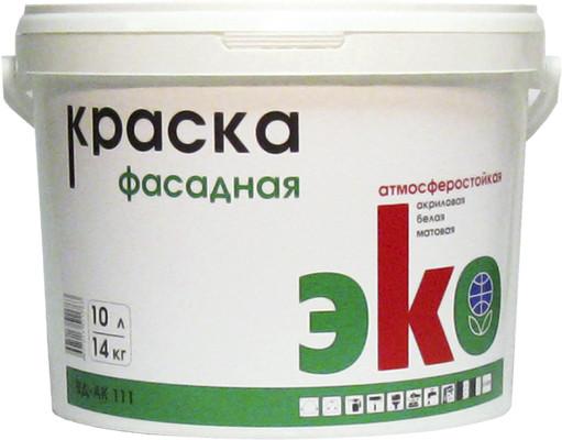 ЭКО 111 Краска фасадная 14 кг