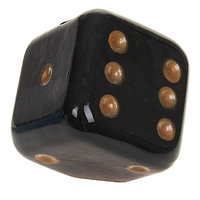Копилка Кубик черный