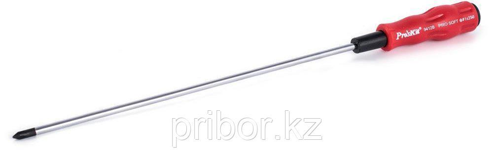 Отвертка крестообразная #1х250мм Pro`sKit 89412B