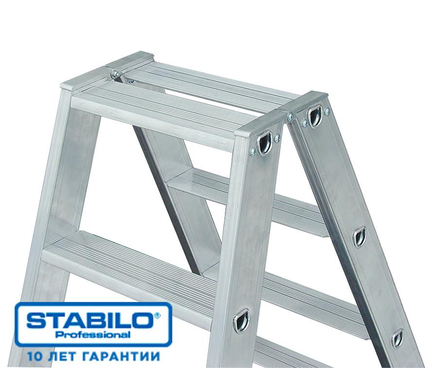 Двухсторонняя лестница-стремянка 2х3 ступ. KRAUSE STABILO