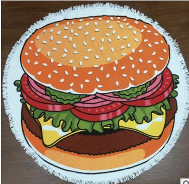 """Коврик для пляжа """"Гамбургер"""""""