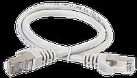 ITK Коммутационный шнур (патч-корд), кат.5Е FTP, LSZH, 0,5м, серый