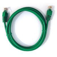 ITK Коммутационный шнур (патч-корд), кат.5Е FTP, 1м, зеленый