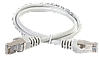 ITK Коммутационный шнур (патч-корд), кат.5Е FTP, LSZH, 1м, серый