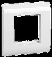 Лицевая рамка для мод. Mosaic, 80х80мм, бел. ITK