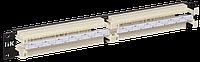 """ITK 19"""" кросс-панель 100-парная, 1U, 110 т. (модули в комплекте)"""